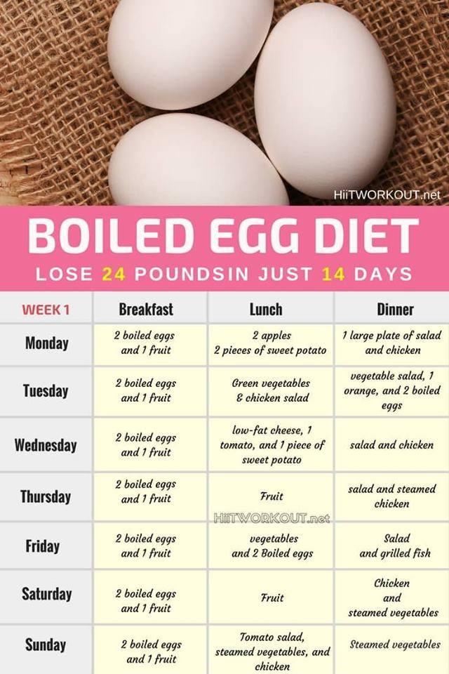 boiled egg diet week 2